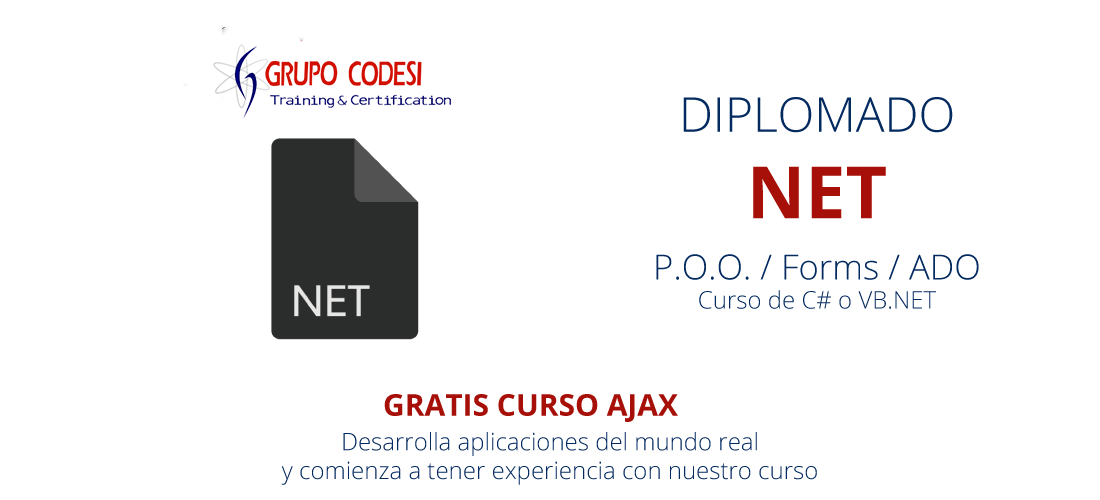 Cursos de visual studio .Net